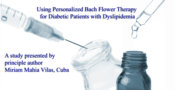 Using Personalized Bach Flower Therapy for Diabetic Patients