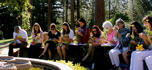 Students at Terra Flora